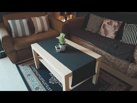 Ikea Coffee Table Lack And Table Runner Marit Unboxing Youtube