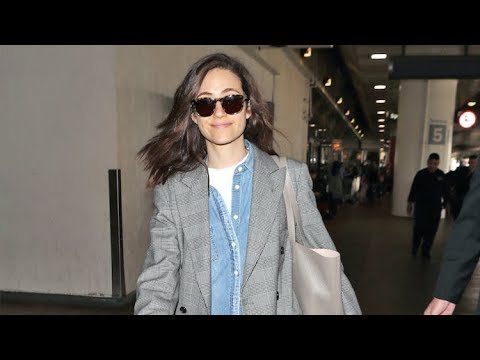 Emmy Rossum Asked If Hubby Sam Esmail Can Predict The Future