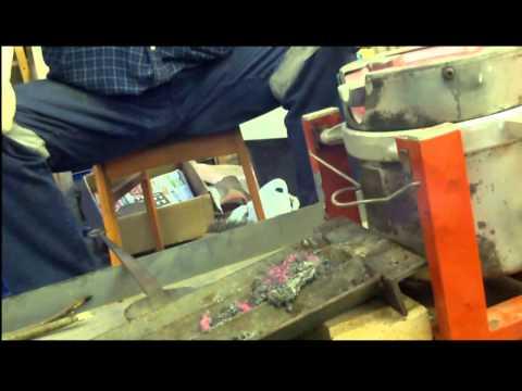 Smelting Cornish Tin
