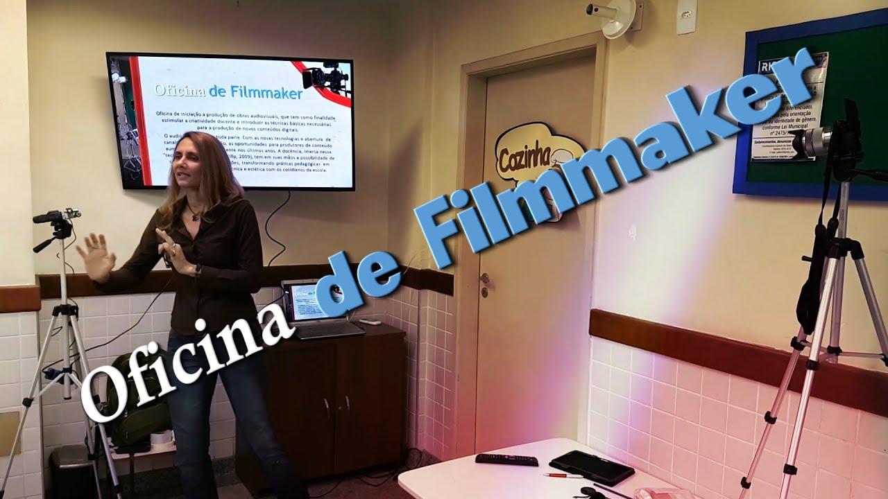 Oficina de Filmmaker na C. M. Tia Elza