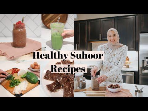 What to Eat for Suhoor | Healthy Suhoor Ideas! - YouTube