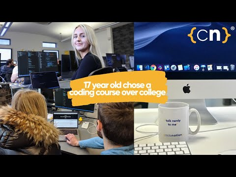 Coding Course Instead Of College? - Elishka's Story   Code Nation