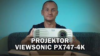 Projektor Viewsonic PX747-4K: To nejlepší pro fotbalový šampionát!