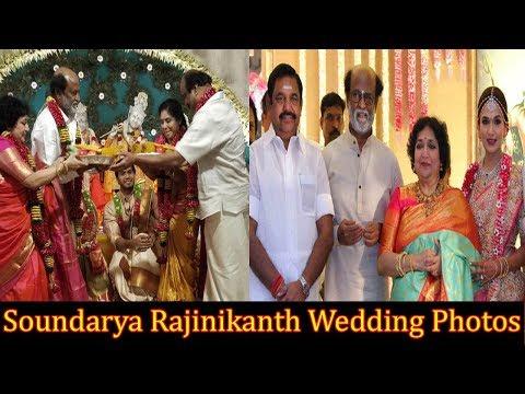 Soundarya Rajinikanth and Vishagan Vanangamudi's Wedding Photos | Rajinikanth Daughter Marriage