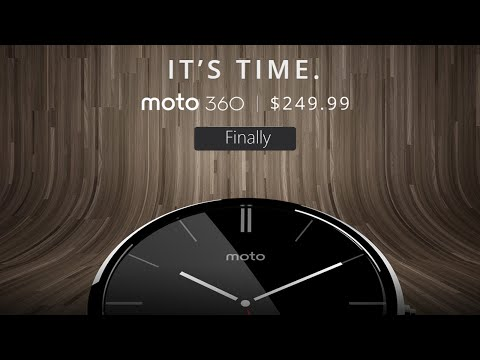 Moto 360 - Official Launch