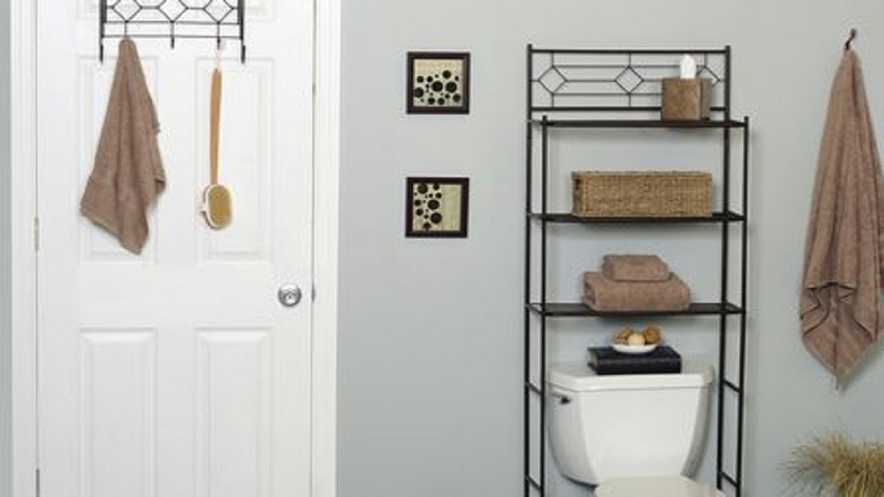 Mainstays 3 Shelf Bathroom Space Saver, Oil Rubbed Bronze