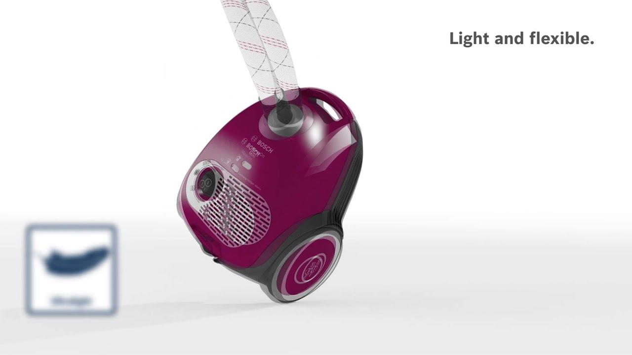 bosch moveon mini vacuum cleaner youtube. Black Bedroom Furniture Sets. Home Design Ideas