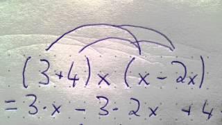 Ausmultiplizieren und Ausklammern - Mathe Anleitung