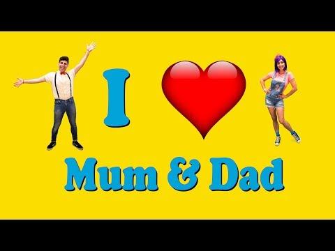 I Love My Mum & Dad CHILDREN'S SONG: Bella & Beans TV