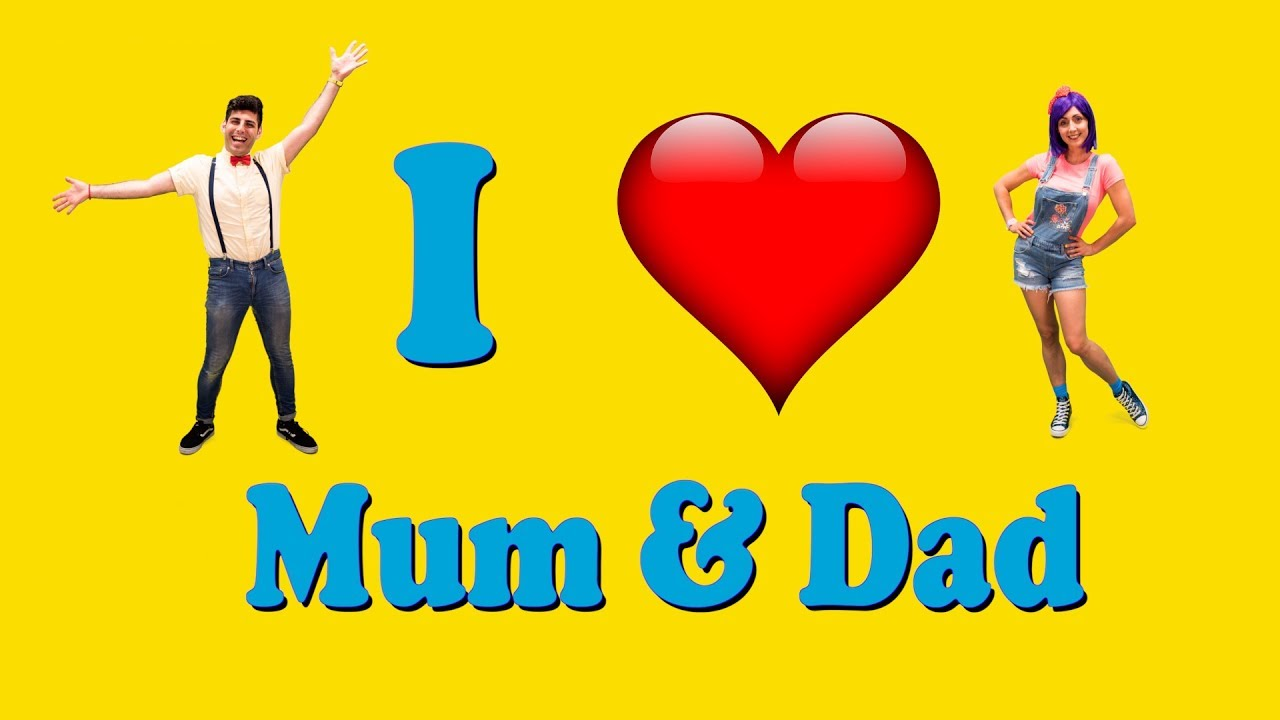 i love my mum dad children 39 s song bella beans tv youtube. Black Bedroom Furniture Sets. Home Design Ideas