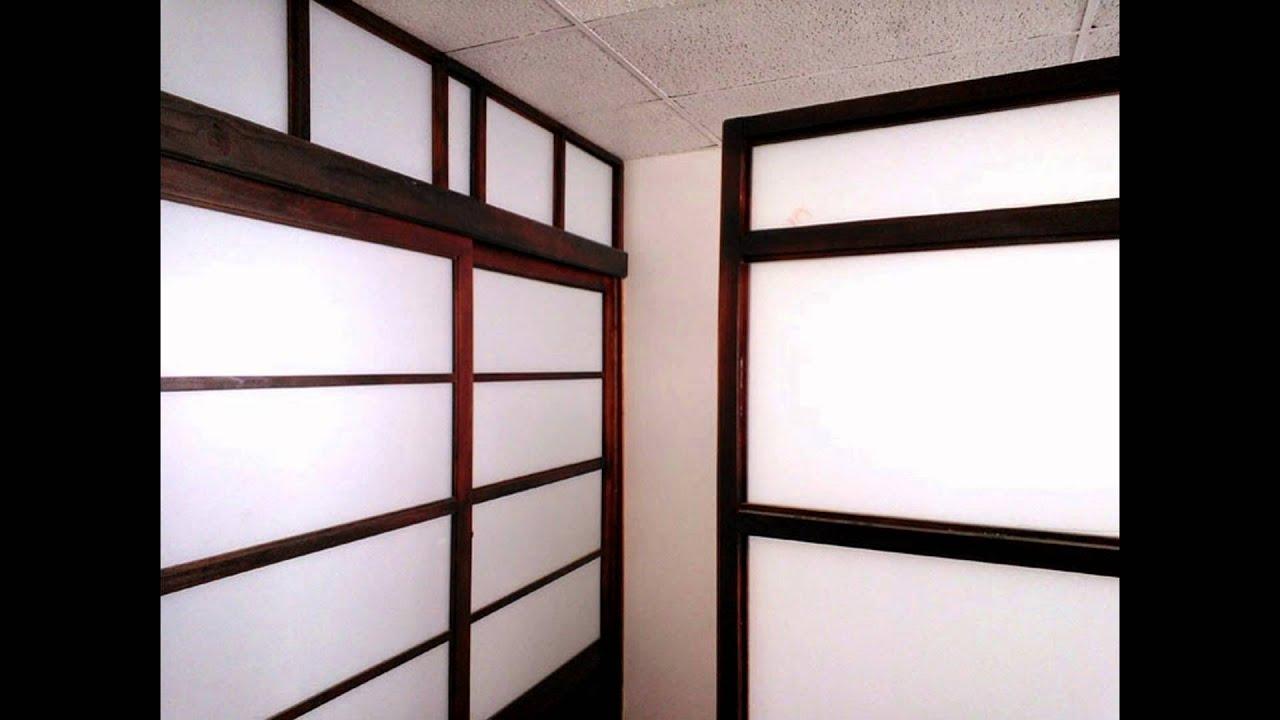 Puertas tipo shoji separadores closet mamparas - Tipos de mamparas ...