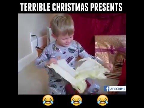 Terrible Christmas Presents 2016 l A Banana !!!! XD