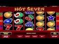 Hot Seven online slot machine 777 Slots