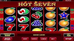Hot Seven online slot machine   777 Slots