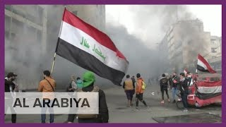 Iraq protests: Security forces fire at demonstrators at Baghdad