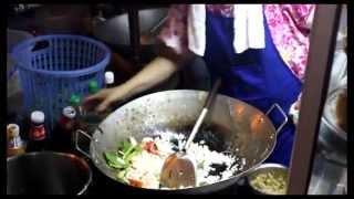 Као пад тале - жареный рис с морепродуктами (тайская кухня)