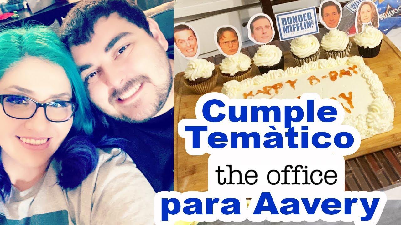 """Cumpleaños Temático """"The Office"""" para Aavery, Celebrando en la Pandemia, JohanaCaudiGs"""