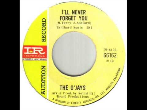 The O'Jays I'll Never Forget You