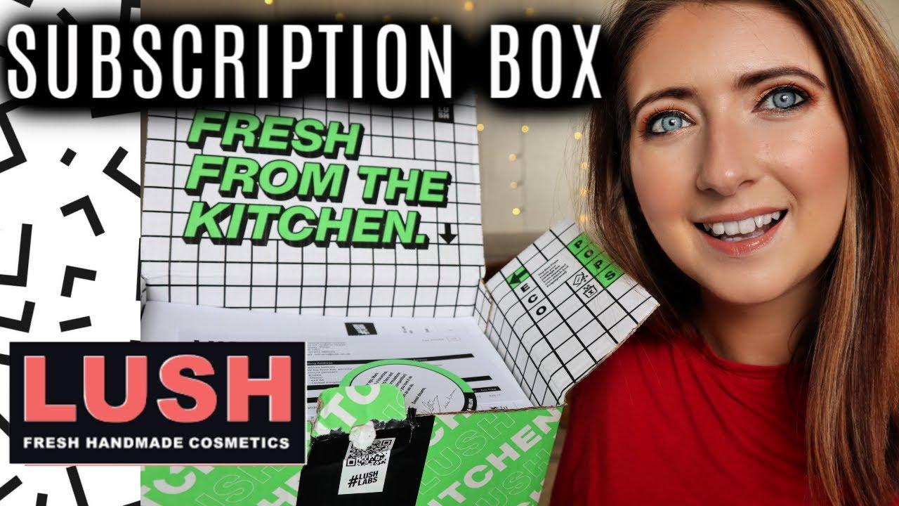 LUSH KITCHEN SUBSCRIPTION BOX | WILLOW BIGGS - YouTube