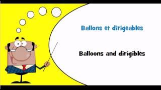 FRANCAIS ANGLAIS = Ballons, dirigeables et autres aéronefs non motorisés