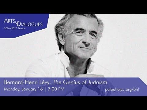 "Bernard-Henri Lévy - ""The Genius of Judaism"""