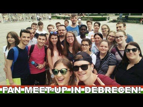 FIRST EVER FAN MEET-UP IN DEBRECEN! 🇭🇺 Speaking Hungarian in Debrecen
