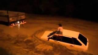 Потоп в Волжском 16 05 2016