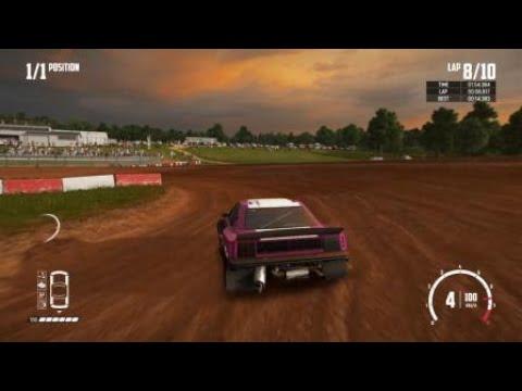 Wreckfest: Bloomfield Speedway Dirt Oval 1 Lap D Class WR - 14.289s
