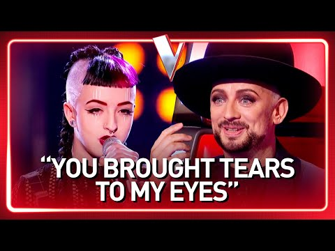 """Boy George's """"little sister"""" in The Voice 