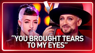 "Download lagu Boy George's ""little sister"" in The Voice 