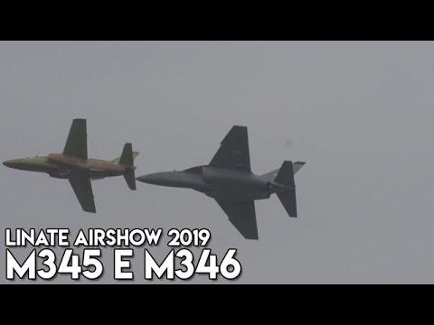 Linate Airshow 2019 - M345 E M346