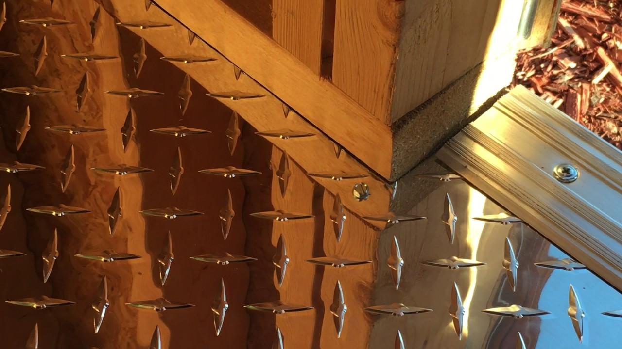 How To Install An Aluminum Diamond Plate Floor Part 2