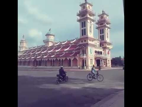 An evening in Tay Ninh Holy See
