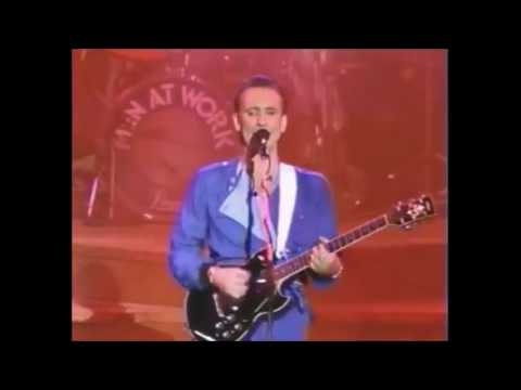 Men at Work - It's a Mistake (Live)