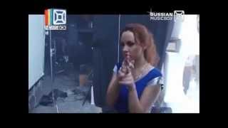 Съёмки клипа МакSим на песню 'Я ветер' (NewsBox, 29.03.13)