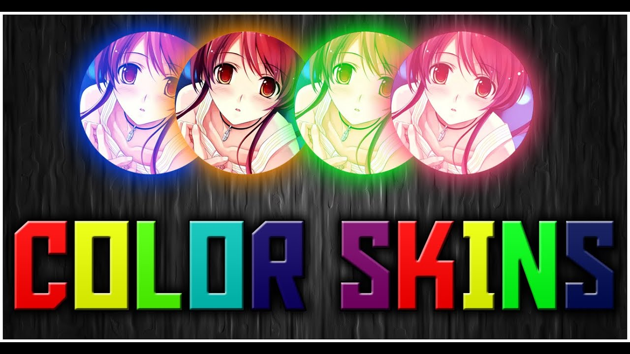 agar io color changing skins youtube