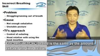 Seminar01-09:Three main reasons for not swimming easy 1 (English subtitles)