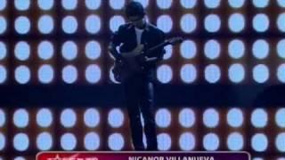 Nicanor Villanueva en la segunda semifinal de Talento Argentino 2011 12-02-2011