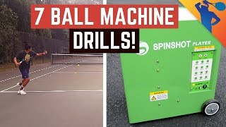 7 Best Ball Machine Drills to Improve Your Game!
