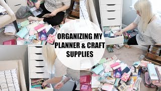 ikea craft room organization