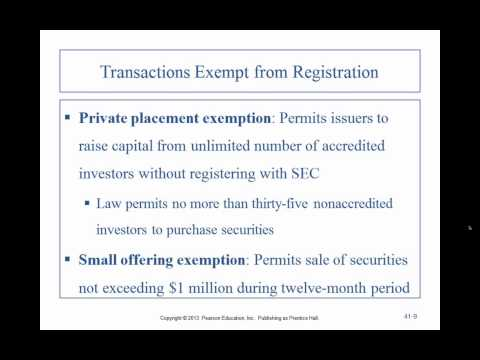 Business Law II - Professor Sharma (Lecture 9, Chapters 41 &