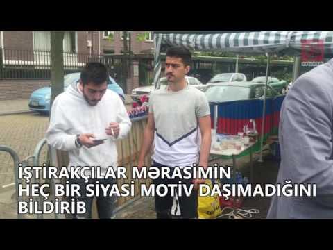 Avropada yaşayan azərbaycanlılar şəhidlərimizin anım mərasimini keçiriblər