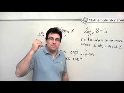 K čemu jsou logaritmy?