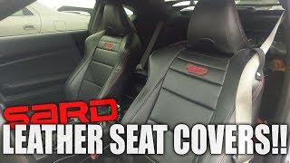 Scion FRS - DIY MOD, SARD Leather Seat Conversion!
