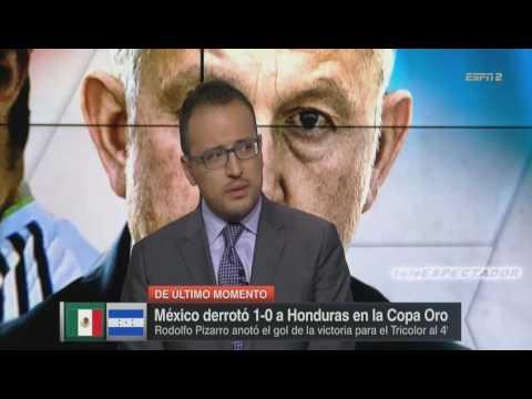 Analisis del MEXICO vs HONDURAS - Cuartos Copa Oro 2017 - Futbol Picante (1/2)
