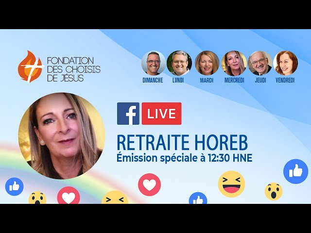 Facebook Live quotidien 09/04/2021- Retraite des choisis, partie 3 : Histoire du monde
