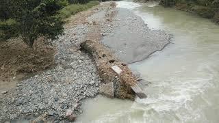 台風19号 埼玉県都幾川中流域 ときがわ町和田橋~嵐山町八幡橋 被害状況