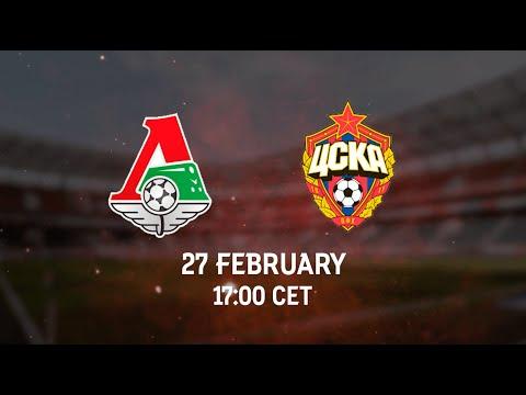 Lokomotiv vs CSKA.