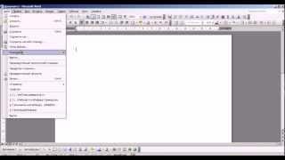 Форматирование реферата в программе Office Word