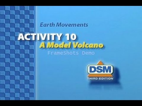 Earth Movements - Activity 10: A Model Volcano